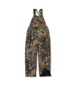 Carhartt Boy's Quilt Lined Camo Bib Overall CM8648