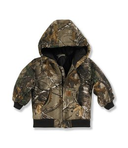 Carhartt Boy's Toddler Quilt-Lined Camo Active Jacket CP8467