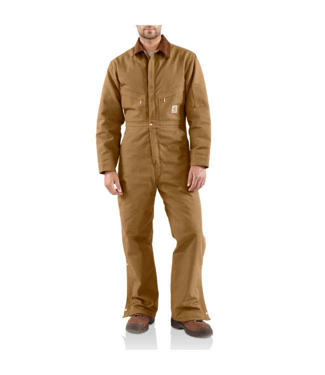 Carhartt Coveralls Quilt Lined Duck X01