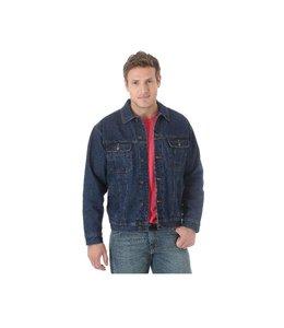 Wrangler Jacket Jean Sherpa Lined Rugged Wear RJK33DN