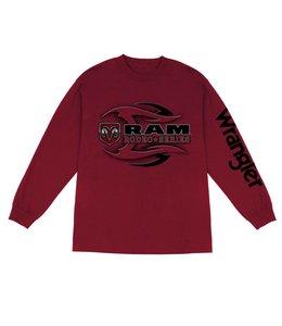 Wrangler T-Shirt Long Sleeve Ram Rodeo Series MQ7676R
