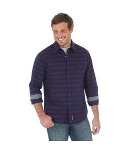 Wrangler Shirt Long Sleeve Button Down Retro MVR349M