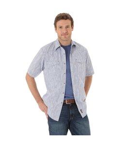 Wrangler Shirt Snap Down Short Sleeve Retro MVR280M