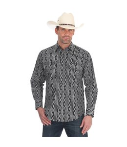 Wrangler Shirt Long Sleeve Snap Front Checotah MC1231M