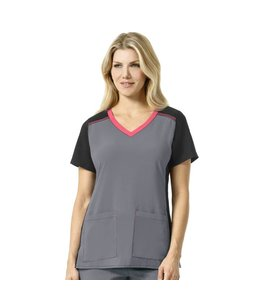 Carhartt Scrub Top V-Neck Mix Knit C12410A