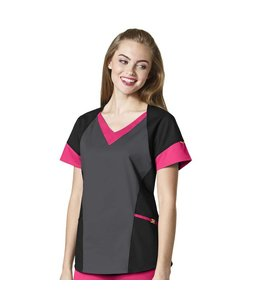 WonderWink Scrub Top V-Neck Tri 6703A