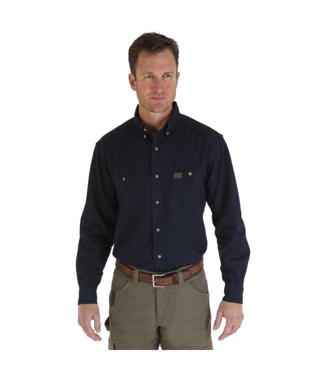 Wrangler Shirt Twill Riggs Workwear 3W501NV
