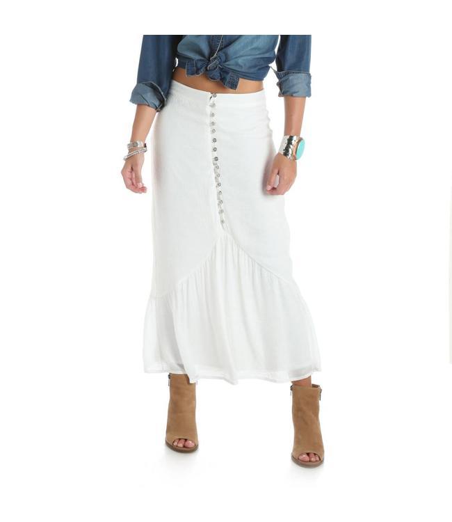 Wrangler Skirt Buttoned Midi LWS621N
