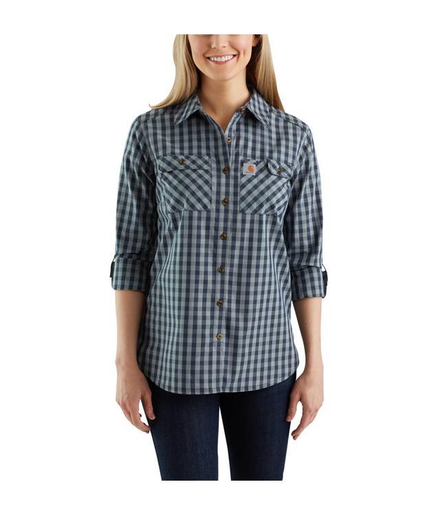 Carhartt Shirt Plaid Ridgefield Force 103081