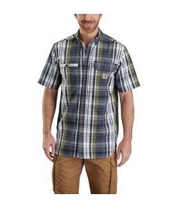 Carhartt Shirt Short Sleeve Force Plaid Ridgefield 103146