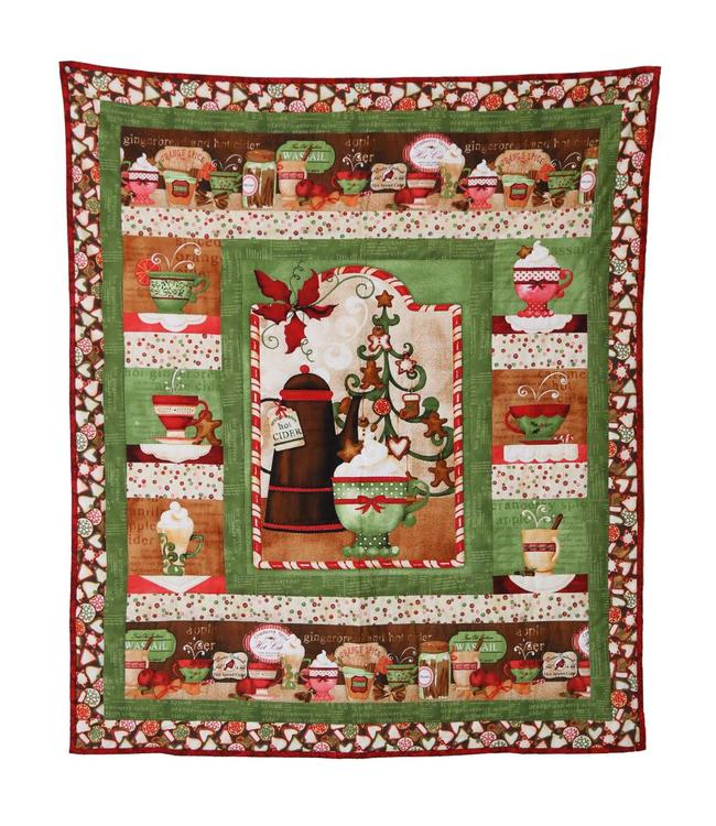 Sew Special Wallhanging Hot Cider
