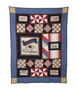 Sew Special Wallhanging Whispers of Wisdom