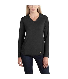 Carhartt T-Shirt V-Neck Long Sleeve Force Performance 101781