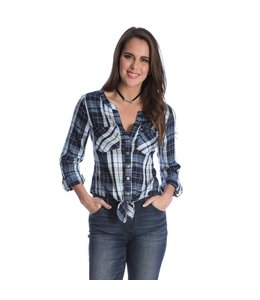 Wrangler Shirt Western Fashion Long Sleeve Button Down LW7101V