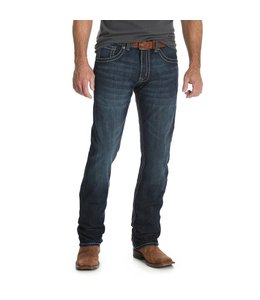 Wrangler Jean Slim Fit Straight Leg Rock 47 by Wrangler MRS47VR