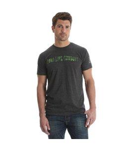 Wrangler T-Shirt Screenprint Short Sleeve Rock 47 by Wrangler MRCQ26H