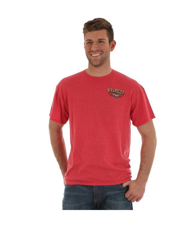 Wrangler T-Shirt Screenprint Short Sleeve PBR MQ7783R