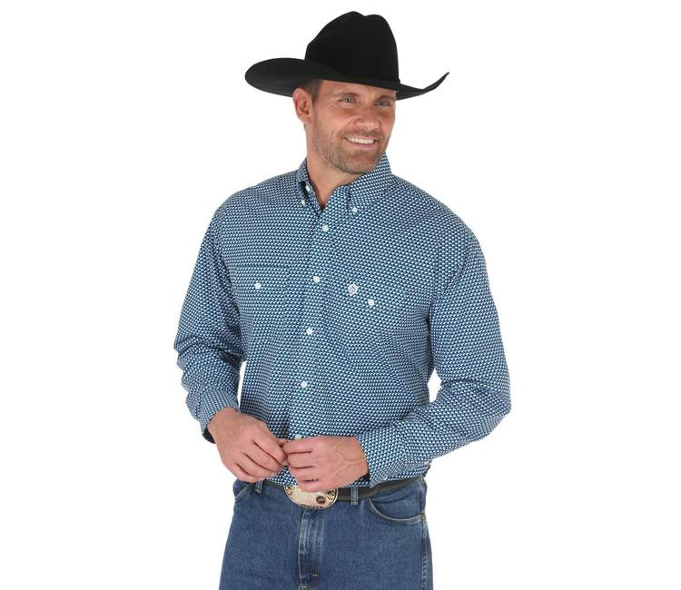 1b7a0dcd Shirt Button Down Long Sleeve George Strait MGSB523 - Traditions Fabric •  Clothing and Gift Shoppe