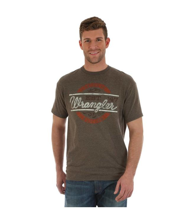 Wrangler T-Shirt Screenprint Est. 47 Wrangler Rope Short Sleeve MQ7782E