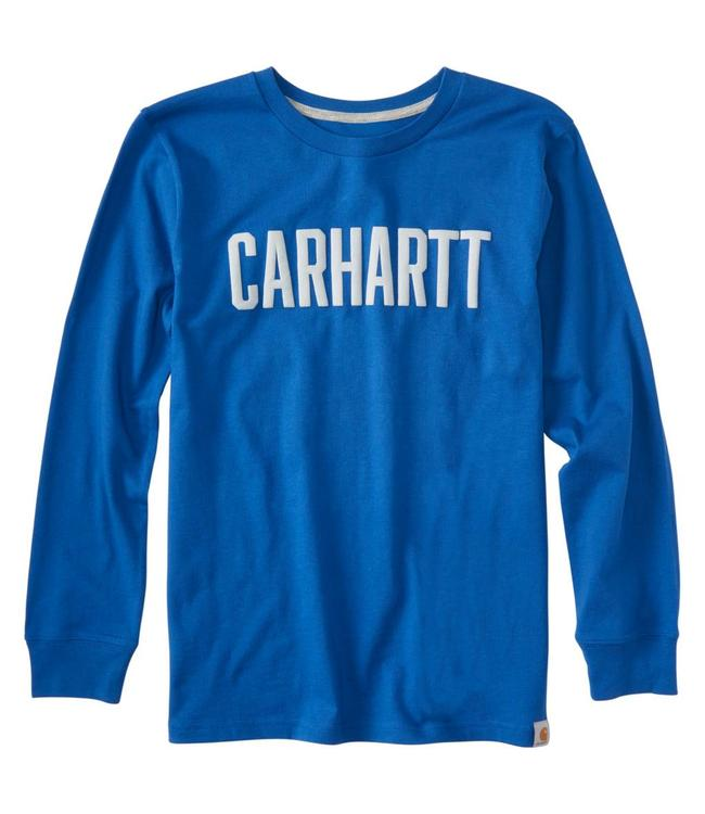 Carhartt Long Sleeve Tee Carhartt Block Graphic CA8917