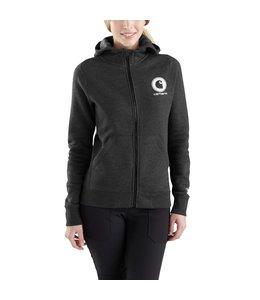 Carhartt Sweatshirt Hooded Zip-Front Graphic Delmont Force 103403
