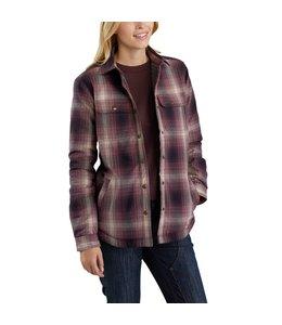 Carhartt Women's Shirt Jac Sherpa-Lined Hubbard 103227