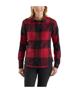 Carhartt Shirt Fleece-Lined Hamilton Rugged Flex 103239
