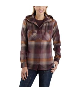 Carhartt Shirt Flannel Hooded Beartooth 103235