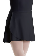 MOTIONWEAR Wrap Tie Skirt/Unfinished Hem 1169