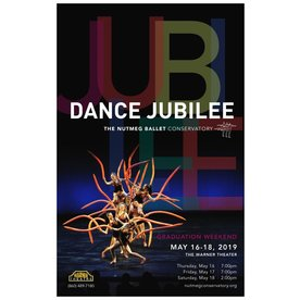 Nutmeg Conservatory of Ballet 2019 Dance Jubilee Graduation Performances DVD Version