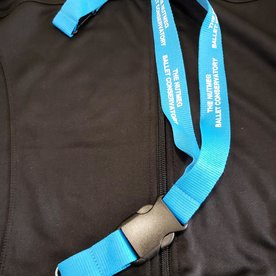 Nutmeg Conservatory of Ballet The Nutmeg Ballet Conservatory Hang in There Logo Lanyard