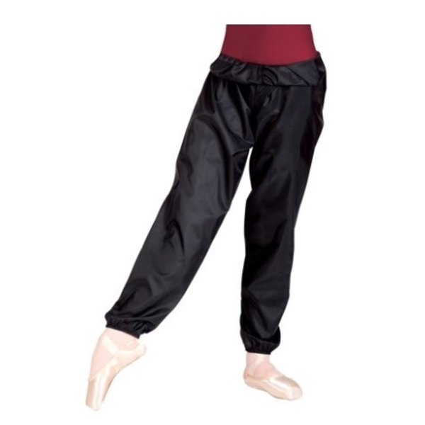 """BODYWRAPPERS Body Wrappers """"Trash Bag"""" Pants Youth Black"""