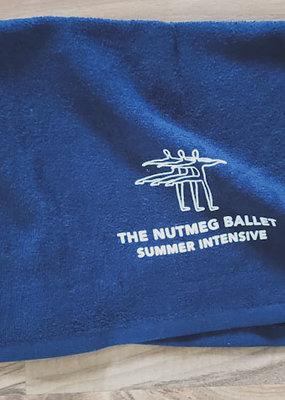 Nutmeg Logo Towel Navy