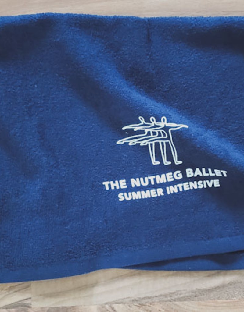 Nutmeg Logo Towel Navy