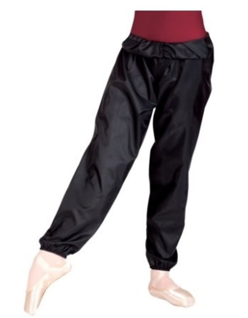 BODYWRAPPERS Trash Bag Pants Youth Black