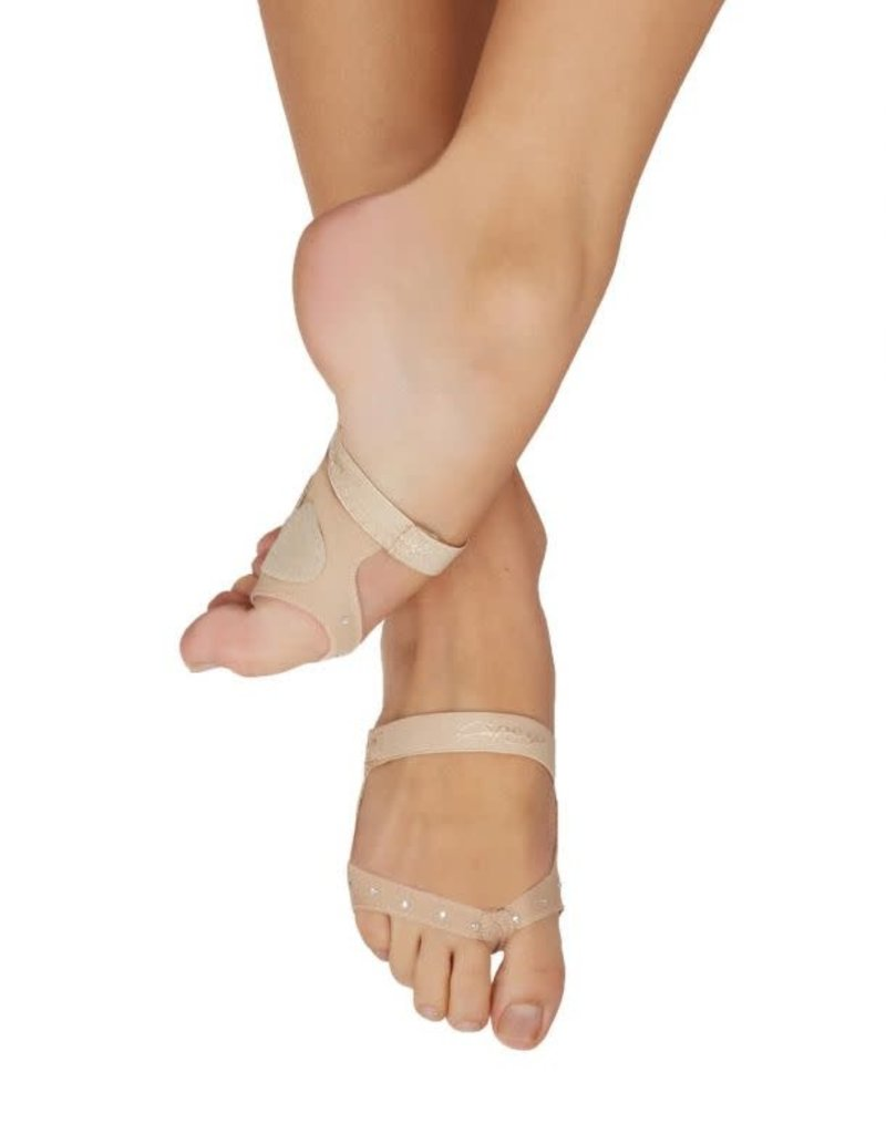 CAPEZIO Capezio Thongz footUndeez Nude - Lyrical