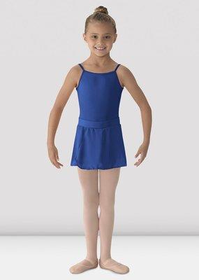 MIRELLA DANCEWEAR MS12-CH Mock-Wrap Skirt RYL Blue  SM