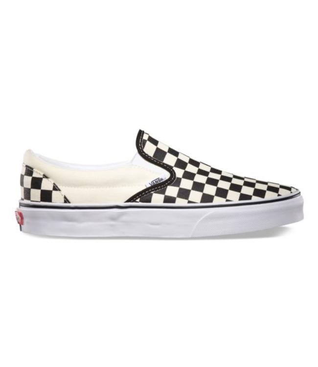63dd0b1109b3 Vans Classic Slip-On Checkerboard Shoes