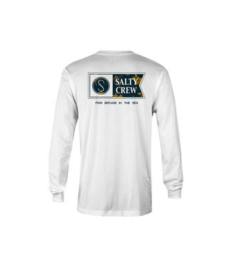 Salty Crew Navigator White Long Sleeve Tee