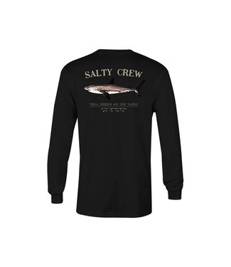 Salty Crew Bruce Black Long Sleeve Tee