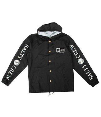 Salty Crew Navigator Black Snap Jacket