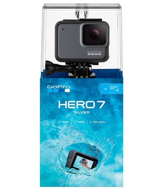GoPro GoPro Hero 7 Silver Camera Bundle w/SD Card