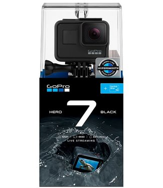 GoPro Hero 7 Black Camera Bundle w/SD Card