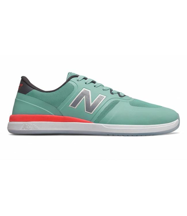 New Balance Numeric 420 Orange/Seafoam Skate Shoes