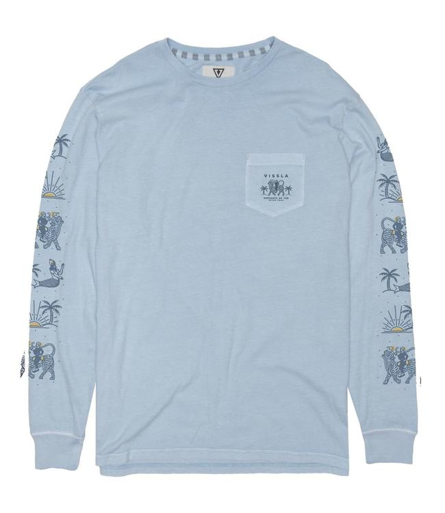VISSLA Genie Long Sleeve Pocket T Shirt