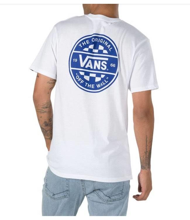 727476e1ee1 Vans Checker Co Short Sleeve Tee Shirt
