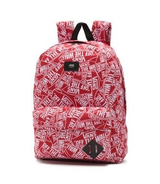 Vans Old Skool II Red Mash Up Backpack