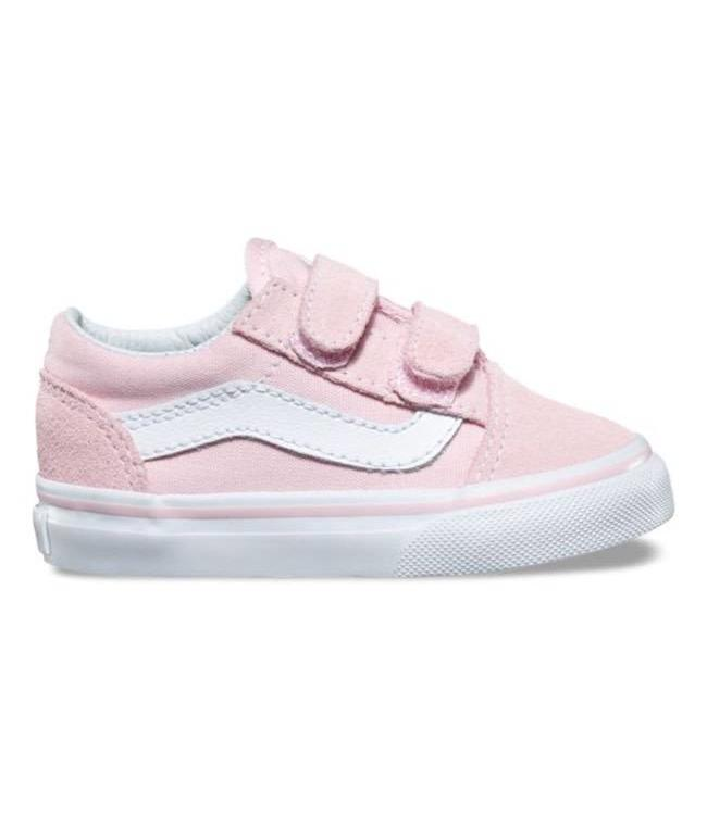 Vans Toddler Chalk Pink Old Skool V Shoes