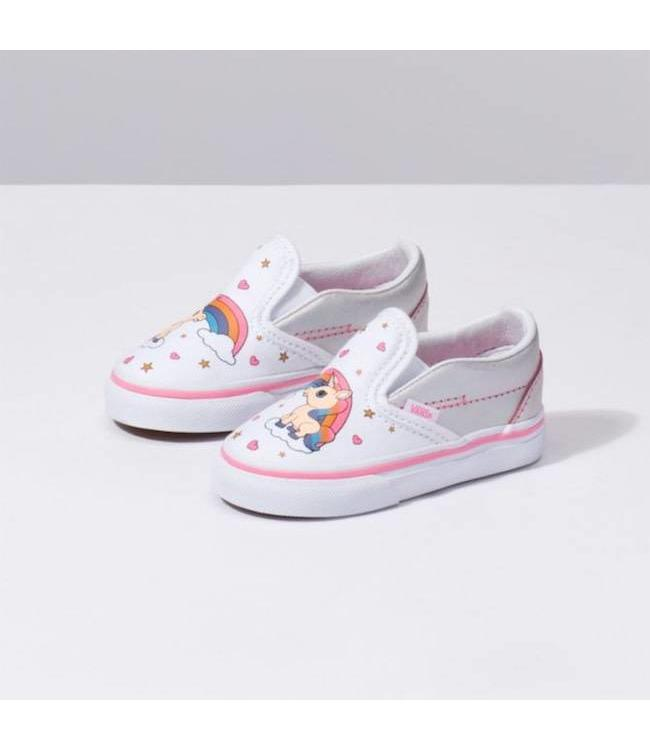 Vans Toddler Unicorn Rainbow Slip On Shoes