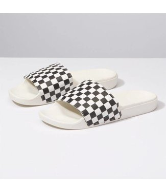 Vans Womens Checkerboard Slide-On